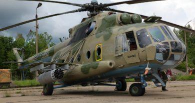 MI-8 choppers