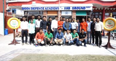 SSB Course concluded at DDA SSB Ground on 20 Oct 2018
