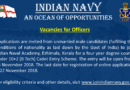 Join Indian Naval Academy for a Four Year Degree Course Under 10+2 (B Tech) Cadet Entry Scheme