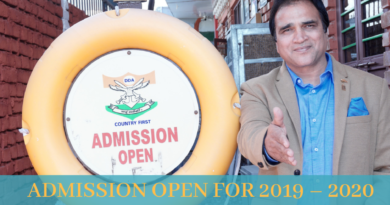 Admission Open for Session 2019-2020 – Hurry up! Limited Seats Available